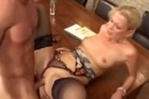 Anna Lena Blonde deutsche Milf liebt Sex